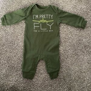 Baby boy airplane outfit